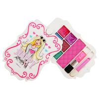 儿童化妆品公主彩妆盒舞台妆眼影腮红唇彩表演女孩玩具