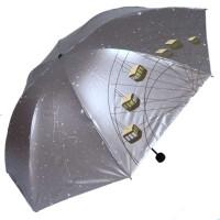 天堂伞33354e摩天乐园黑涤彩胶防晒伞大伞面晴雨伞遮阳伞