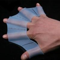硅胶游泳装备 划水掌手蹼训练儿童 游泳手掌手套手噗指蹼