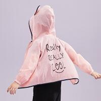 amii女中大儿童防晒衫2018夏季新款时尚洋气皮肤衣韩版薄空调衫