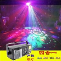 声控彩灯闪灯KTV包房激光灯四合一酒吧迪吧清吧舞台灯光LED爆闪灯