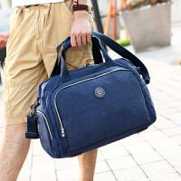 2016新款韩版手提包男女士 大容量行李包短途出行包单肩斜挎包