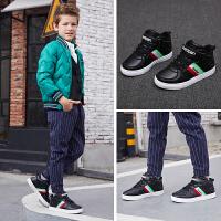 彼得・潘(Beedpan) 男童板鞋冬季新款儿童韩版运动鞋百搭P6058
