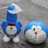 卡通机器猫叮当充电迷你可爱USB小电风扇多啦A梦个性创意手持随身