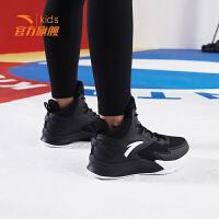 安踏童鞋男童鞋儿童篮球鞋2019新款官方正品高帮中大童运动鞋
