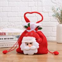 圣诞节苹果袋子礼物袋平安果手提袋*儿童创意礼物糖果袋礼品