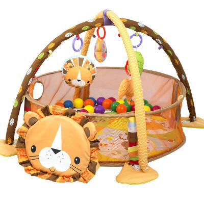 多功能 婴儿防尿海洋游戏垫 爬爬垫健身架 宝宝婴幼儿益智玩具