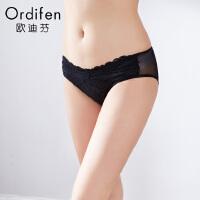 【2件3折到手价约:29】欧迪芬女式内裤 性感低腰提臀女士内裤 年夏季平角裤XP7515