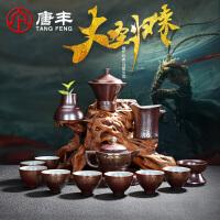唐丰大圣归来陶瓷功夫茶具茶壶盖碗茶杯茶道家用简约茶具套装