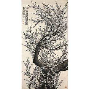 陶冷月(梅花)上海文史馆馆员,中国美术家协会上海分会会员