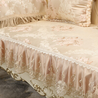 布艺沙发垫欧式皮防滑蕾丝组合坐垫套靠背巾沙发套四季通