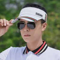 帽子男士韩版潮户外防晒空顶帽户外运动遮阳帽时尚太阳帽