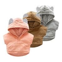 女宝宝婴儿衣服秋装男童上衣0岁6个月开衫新生儿3春秋季短袖外套