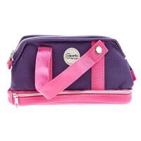 新华书店 正品 国誉WSG-PC73-V紫色 Capatto-R笔袋(手提袋式)大号