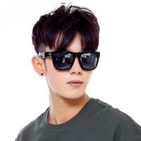 新款眼镜大框长脸复古黑超墨镜 韩版男士个性潮人偏光太阳镜户外遮阳镜