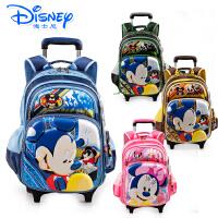 Disney/迪士尼 米奇书包男童女童拉杆书包中学生小学生儿童箱包可拆卸MB8205