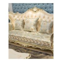 欧式沙发垫四季布艺简约防滑皮沙发坐垫组合沙发贵妃套罩