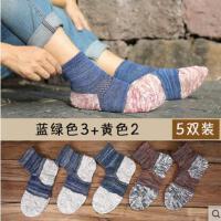 中筒袜子男士棉袜户外新品韩版复古运动防臭吸汗短筒袜日系四季长袜