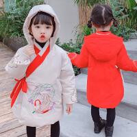女童�h服冬�b����棉衣中���L古�b�和�唐�b外套拜年服