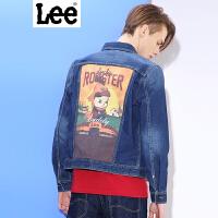 Lee 【新款】男士夹克 商场同款2017春夏新品牛仔夹克男 鸡年纪念款 L248281PP4RC