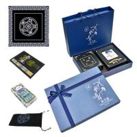 中英文版生日礼物 赠我的人生解答卡占卜塔罗牌 星座礼盒-(精装)答案之书+解答卡 +(塔罗牌一套