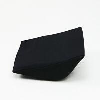 汽车儿童安全座椅腰靠宝宝护腰专用靠垫软记忆棉通用推车婴儿垫腰 黑色腰靠