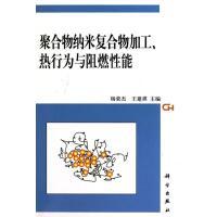 聚合物纳米复合物加工 热行为与阻燃性能 杨荣杰 王建祺 科学出版社 9787030288516
