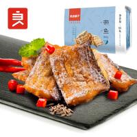 【良品铺子】带鱼86g*1袋 香辣味 鱼干休闲零食办公室即食小吃辣鱼肉香辣味鱼片