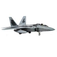 1:100特尔博F22飞机模型合金F-22隐身战斗机仿真成品军事航模摆件 1:100 F22