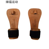 磨砂皮防滑护掌健身手套加压护腕单杠器械引体向上半指专业护具