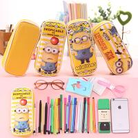 可爱小女孩铅笔袋创意文具盒韩国笔袋女卡通女学生学习铅笔盒