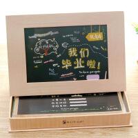 同学录盒装男女初高中小学生唯美纪念册韩版活页个性毕业通讯录