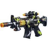 儿童电动玩具枪男孩子发声光音乐震动宝宝小孩冲锋抢2-3-4-5-6岁