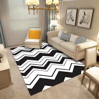 20180928102633854北欧简约风格几何地毯客厅现代沙发茶几垫卧室床边家用长方形地毯