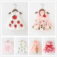 女童夏装连衣裙2童装儿童背心裙0-1-2-3岁婴幼儿宝宝裙子