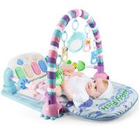 婴儿玩具健身架器0-3个月6益智12男女孩新生幼儿宝宝1岁脚踏钢琴 7ce