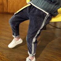 儿童裤子男童牛仔裤中大童冬季长裤单裤