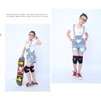 儿童护膝 运动跳舞滑冰骑行足球海绵摔撞跪地护具舞蹈爬行护腿