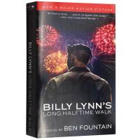 比利林恩的中场战事 英文原版小说 Billy Lynn's Long Halftime Walk 半场无战事 英文版