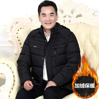中老年男装棉袄老人冬季加厚保暖棉衣中年男士爸爸装冬装外套