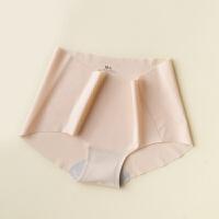 夏季好物 一片式舒适无痕 中腰三角裤 轻薄隐形女士内裤 3色