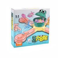 青蛙吃豆吃虫儿童男女孩玩具 多人互动早教竞技桌面家庭趣味游戏