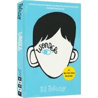 【首页抢券300-100】Wonder 《奇迹男孩》电影原著小说 R.J. Palacio 帕拉秋作品 英语校园生活小说