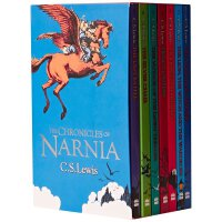 纳尼亚传奇 英文原版 Chronicles of Narnia Box Set 1-7全套 盒装 进口原版 青少年读物