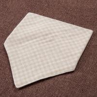 活力熊仔 母婴用品婴幼儿三角巾纯棉面料宝宝喂奶巾透气吸水防脏防臭口水巾