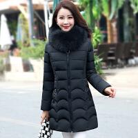中老年棉衣女冬装中长款加厚中年女装妈妈装棉袄外套40-50岁