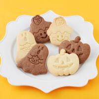 万圣节系列饼干模具 烘焙套装立体曲奇 手工姜饼馒头磨具