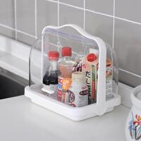 婴儿奶瓶收纳箱宝宝餐具便携辅食收纳沥水带盖水果面包食品储物箱