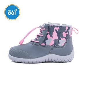 【暖冬来袭-2件4折价:103.6】361度女童棉鞋冬季新款K81744660