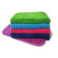 加厚双层珊瑚绒抹布 擦地板家居拖地吸水毛巾 10条装装